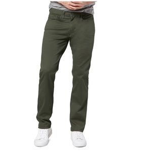 Dockers D2 green straight fit pants